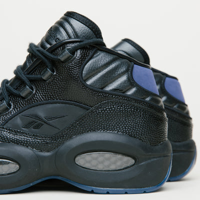 Reebok Question Mid X Packer Shoes (Black/Red/Royal/Shark)