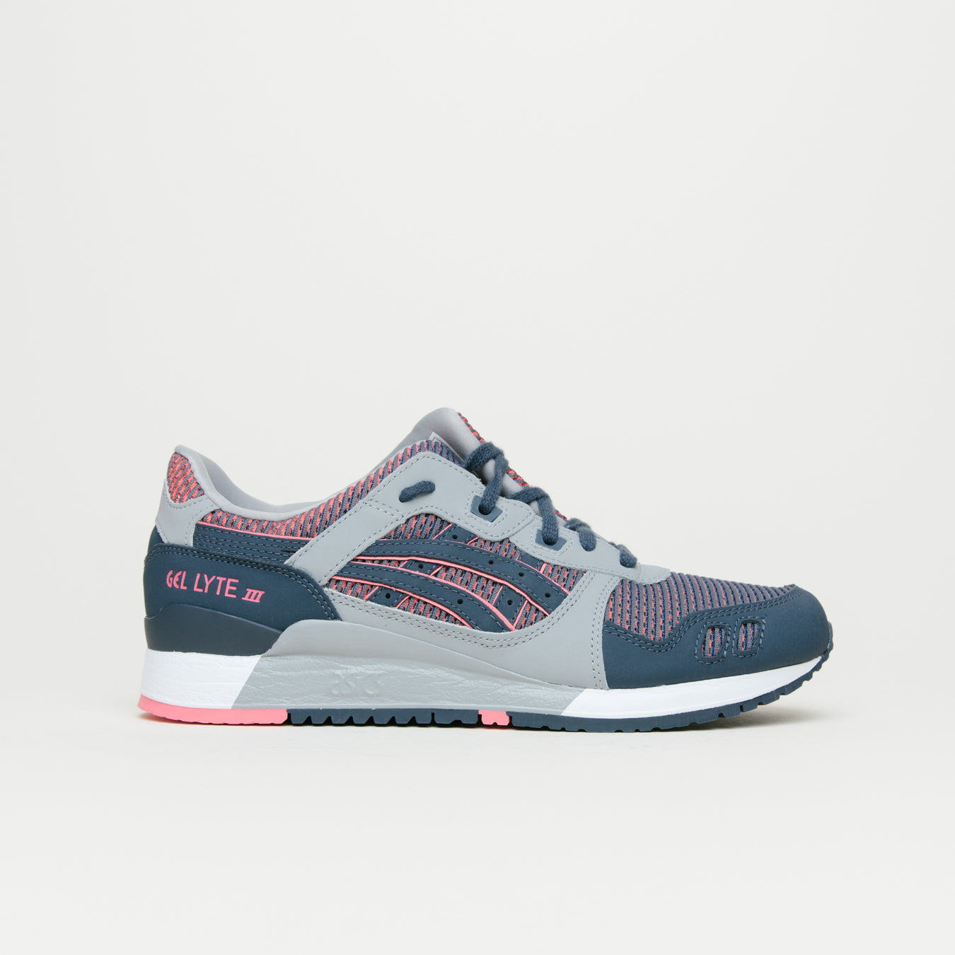 detailed look b8fa3 51427 Asics Gel Lyte III (Medium Grey/Guava)