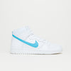 "Nike SB Dunk High TRD QS ""Mulder"" (White/Orion Blue-White-White)"