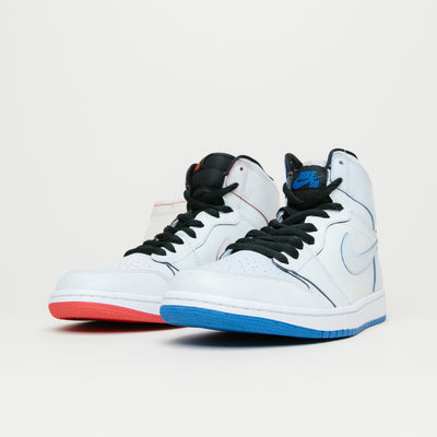 Air Jordan 1 X Nike SB Lance Mountain QS (White/White)