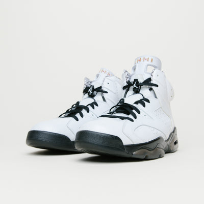 Air Jordan Retro 6 Premium (Motorsport-White/Black)
