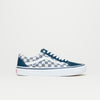 Vans Old Skool Pro (Checkerboard Suede Deep Sea Blue/White)