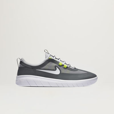 Nike SB Nyjah Free 2 (Smoke Grey/White)