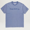Polar Outline Stripe Tee (Dark Blue)