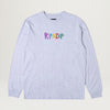 RipNDip EMB Logo L/S Tee (Heather Gray)