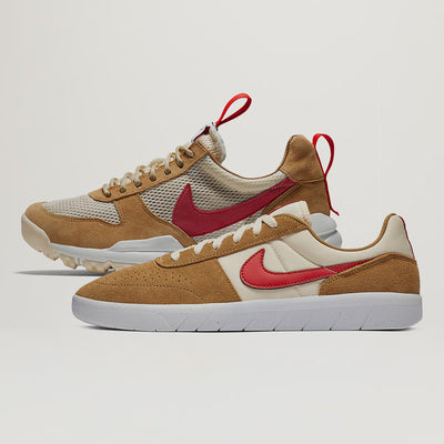Nike SB Team Classic (Golden Beige/University Red) $40.00