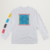 Welcome Seance L/S Tee (White)
