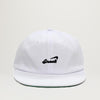 Snack Alive Slider Hat (White)