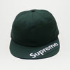 Supreme Visor Label 6 Panel (Dark Green)