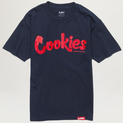 Cookies Thin Mint Tee (Navy/Red)