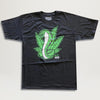 Roger Skate Co. Weed and Cobras Tee (Black)