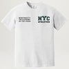 NYC Athletics S/S Tee (White) PRESALE