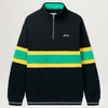 Butter Goods Marshall 1/4 Zip Pullover (Black)