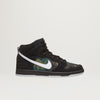 Nike SB Dunk High Pro (Black/White-Iguana) $100.00