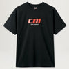 Central Bookings Intl. Network Logo Tee (Black)