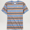 Champion Yarn Dye Stripe Tee (Blue)