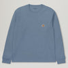 Carhartt WIP L/S Pocket Tee (Cold Blue)