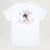 Born X Raised Kawaii Compa Rocker Tee (White)