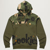 Cookies SF Pullover Hoody W/ Paneled Camo Blocking (Olive)
