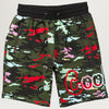 Cookies SF Escobar Fleece Sweatshort (Green Camo)