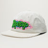 Rip N Dip Flaming Hot Corduroy Strapback (White)