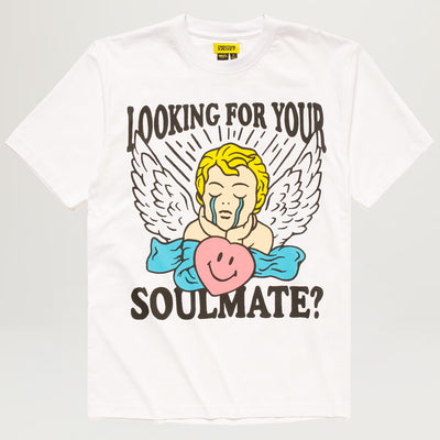 Chinatown Market Smiley Fortune Ball Soul Mate Tee (White)