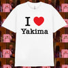 NYC I Love Yakima Tee (White)