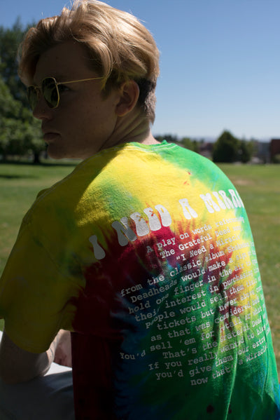 "NYC ""I Need A Miracle"" Tee (Spiral Tie-Dye)"