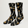 Girl Shroom Socks (Black)