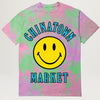 Chinatown Market Smiley Multi Tee (Tye Dye Purple)