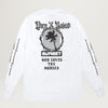 Born X Raised Sunset L/S (White)