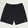 Carhartt WIP Chase Swim Trunks (Black)