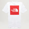 The North Face Box NSE Tee (White/TNF Red)