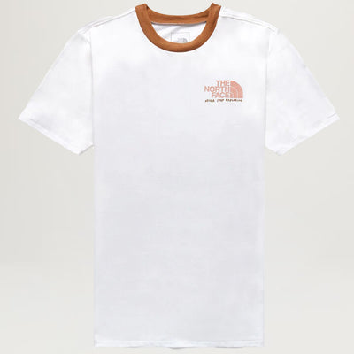 The North Face Rogue Tee (TNF White/Utility Brown)