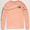 TNF L/S Rogue Graphic Tee (Pink Clay)