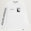 The North Face Steep Tech Logo L/S Tee (TNF White)