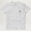Carhartt WIP Pocket Tee (Ash Heather)