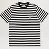 Carhartt WIP Parker Stripe Pocket Tee (Black/Wax)