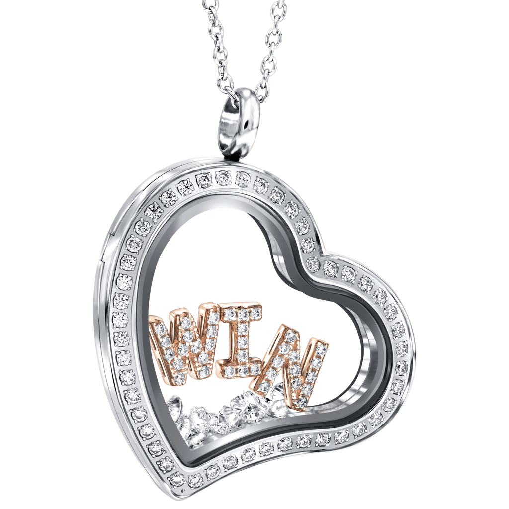 Tresor Paris W.I.N. London Heart Locket Necklace
