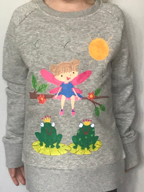 Hope - Kids Sweatshirt Grey