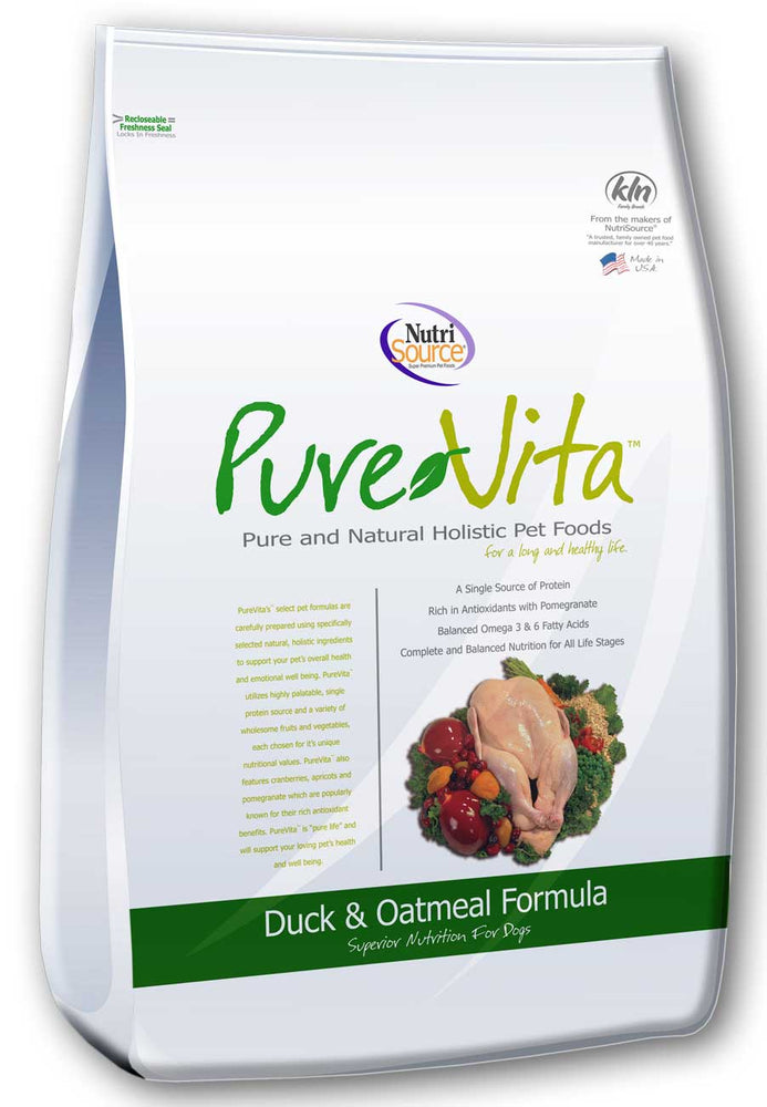 PureVita Duck Oatmeal Dog