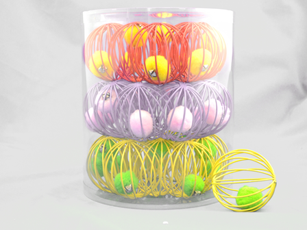 Amazing Wire Ball Bulk Cat Toy