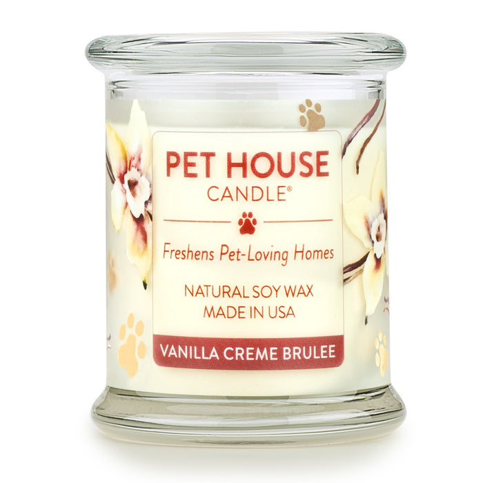 Pet House Candles Vanilla Creme Brulee