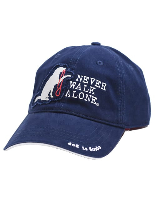 DIG Hat Never Walk Alone Navy