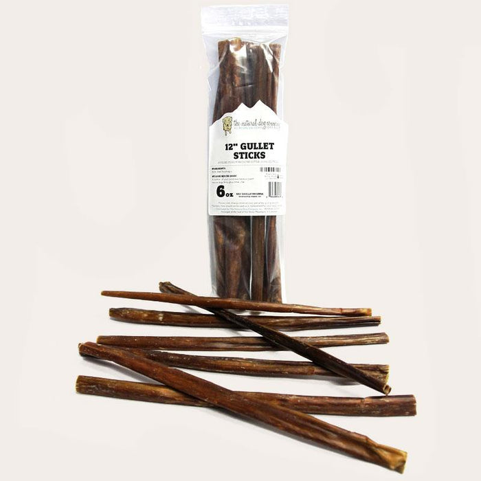 "Natural Dog 12"" Gullet Stick 6oz"