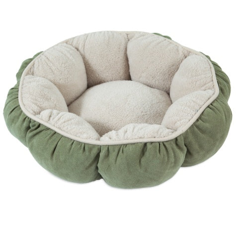 Petmate Puffy Round Cat Bed