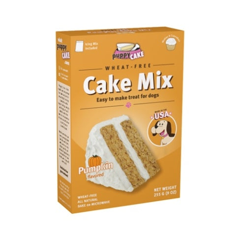 Puppy Cake and Frosting Pumpkin Cake Mix Wheat Free