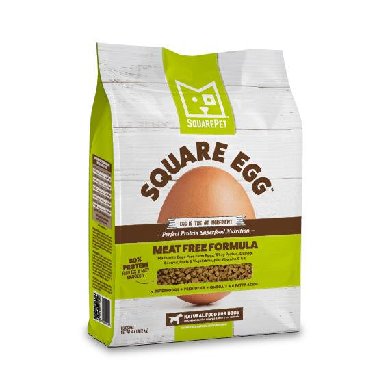 Square Pet Square Egg Meat Free