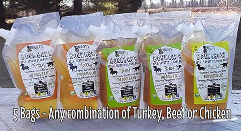 Nugget's Bone Brew Turkey 20oz