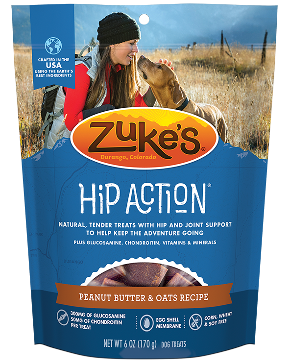 Zukes Hip Action Peanut Butter 6z